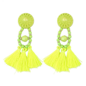 Lady vamp - Yellow - Earrings