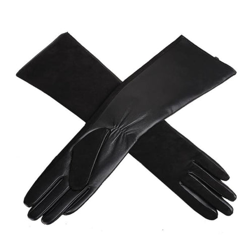 Long Gloves - Black / L - Gloves