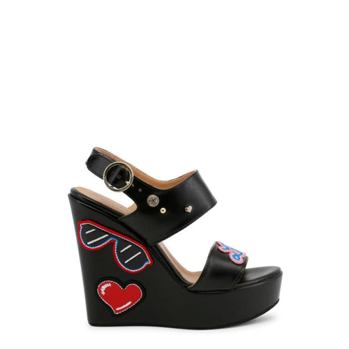 Love Moschino - LMS113 - black / 36 - Wedges