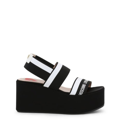 Love Moschino - LMS122 - black / 35 - Wedges