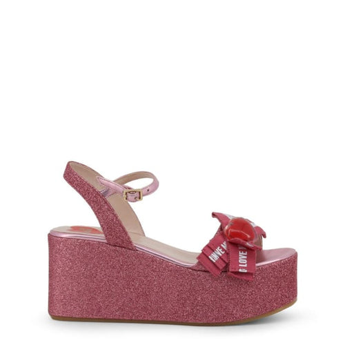 Love Moschino - LMS123 - pink / 35 - Wedges