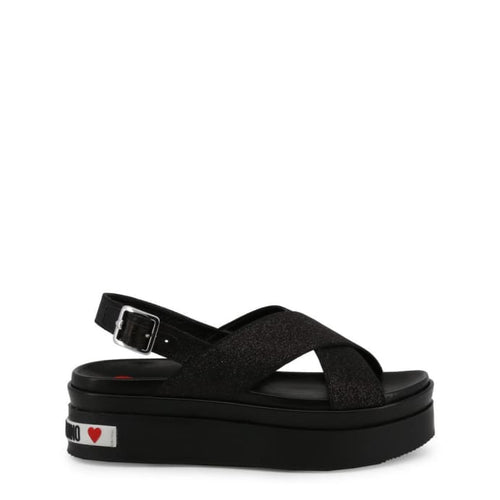 Love Moschino - LMS7 - black / 35 - Wedges