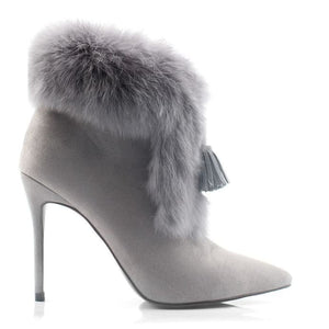 Richy Rabbit - gray 10cm heel / 4 - Shoes