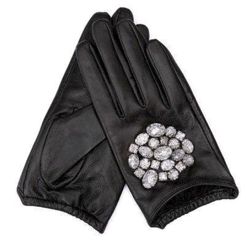 Stone Gloves - Black White / L - Gloves