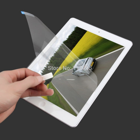 1 pcs High-quality Crystal Clear Premium Screen Protective Film for Ipad 5for Ipad Air Free / Drop Shipping Drop Shipping