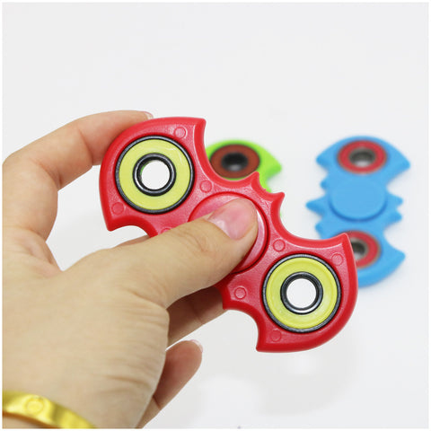 1pcs Bat HandSpinner Relieve stress Fidget spinner Professional Finger gyro For Autism gift for ADHD friends Dianxiatoy