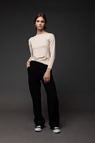 Audrey French boatneck