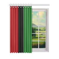 "RBG Window Curtain 52"" x 63""(One Piece)"
