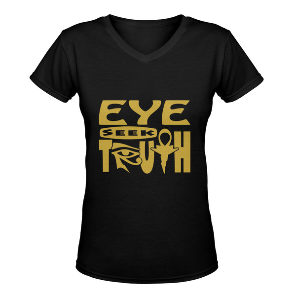 Eye Seek Truth™ Women's Deep V-Neck