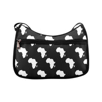 Black & White Africa Messenger Bag