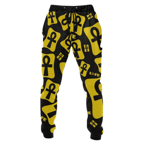 Ankh Life (Yellow) Jogger Pants