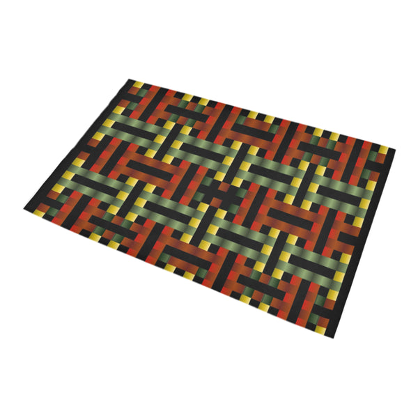 MB - Red/Gold/Green Bath Rug (20''x 32'')