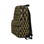 Black and Gold Ankh Classic Backpack