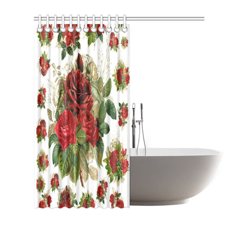 "Rose Collection™ Shower Curtain {72""x72""}"