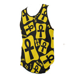 Ankh Life (Yellow) Tank Top