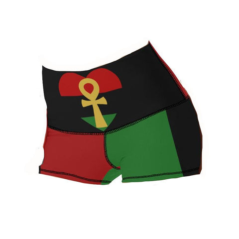 RBG Ankh Love Yoga Shorts