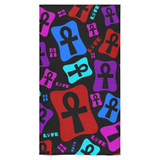 "Ankh Life (Multicolor) Bath Towel 30""x56"""