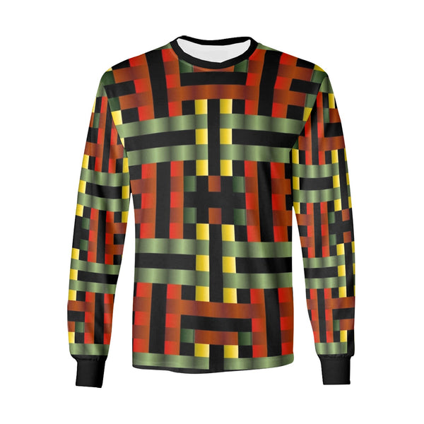 Rasta Mo' Long Sleeve Soft Tshirt