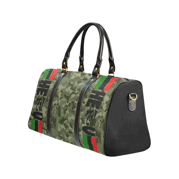 HRU™ RBG CAMO Travel Bag (Large)