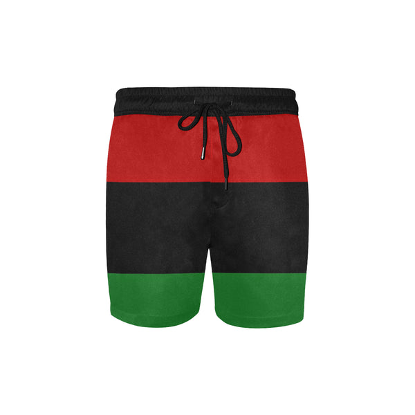 RBG Mid-Length Swim Shorts