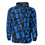 Ankh Life (Blue) Windbreaker