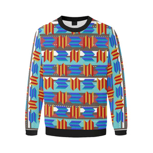 WAVEY ZIG-ZAG Fleece Crew Sweatshirt (Men)