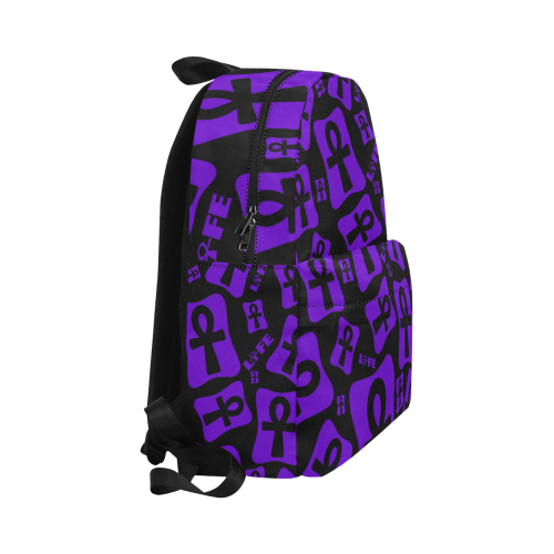 Ankh Life (Purple) Classic Backpack