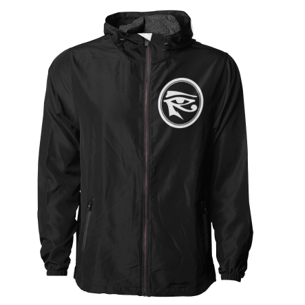 Eye of Ra Windbreaker (Black/White)