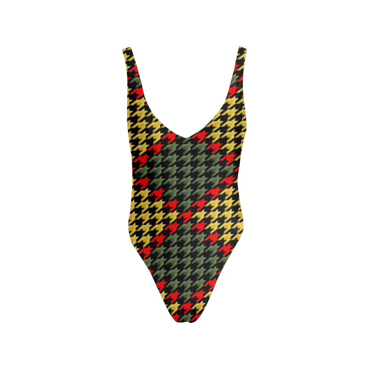 RASTA Mo' Tweed  Low Back Swimsuit