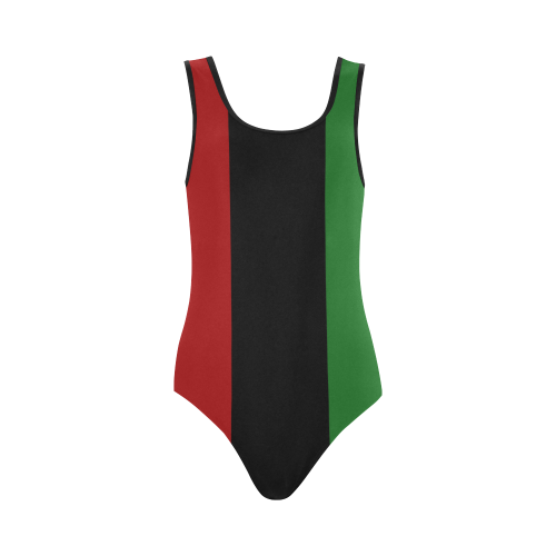 RBG 1Pc Bathing Suit (Vertical)
