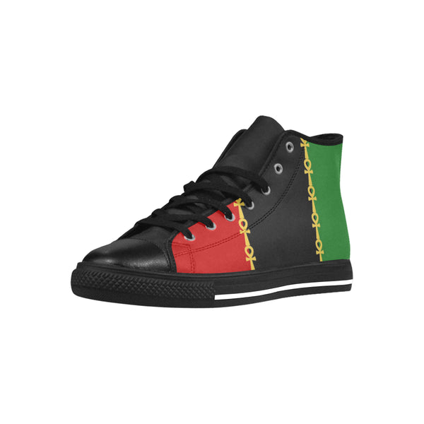 RBG Ankh High Top Microfiber Leather ( Men's )