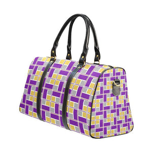 Purple & Gold Rec Tec™ Travel Bag (Large)