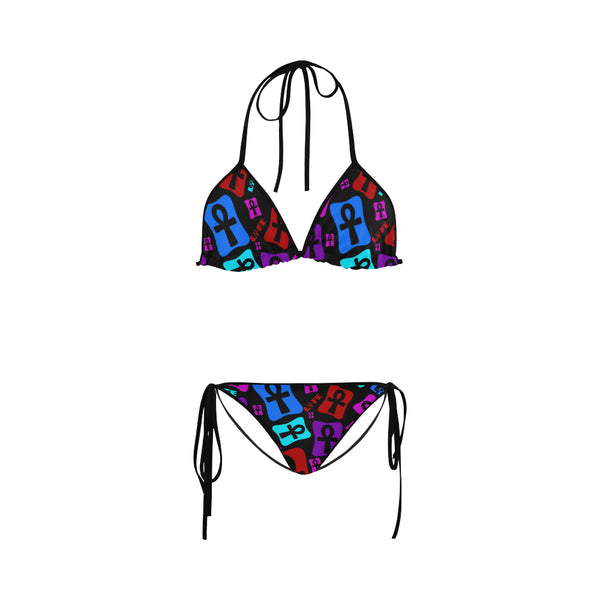 Ankh Life (Multi Color) Bikini Swimsuit