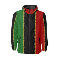 Pan African Ankh Windbreaker