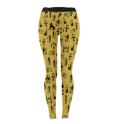 Mdw Ntchr (Gold) Leggings