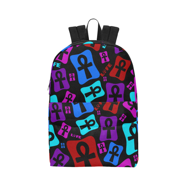Ankh Life (MultiColor) Classic Backpack