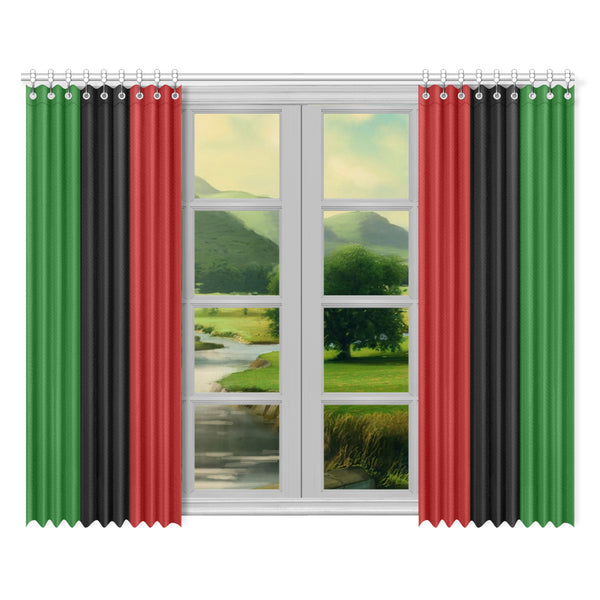 "RBG Window Curtain (52""x84"") Two Pcs"