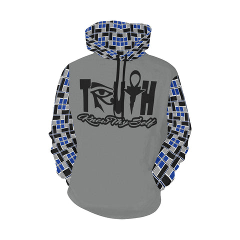 NU TRUTH - KNOW THYSELF / REC-TEC™ (BLUE) HOODIE