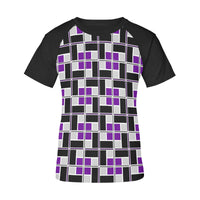 Rec-Tech™ Women's Raglan T-Shirt (Purple)