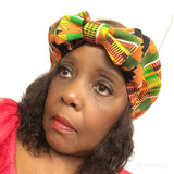 Kente Bow Head Band