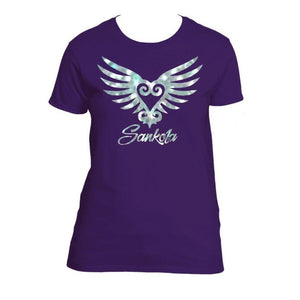 Holographic Winged Sankofa (Silver)