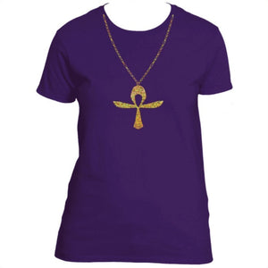 Holographic Ankh Chain (Gold)
