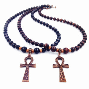 Ebony or Black & Copper Ankhlace™