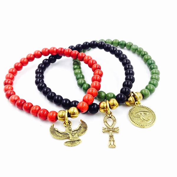 RBG KMT Bracelet Set (Gold)
