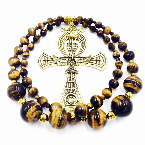 Tiger's Eye Ankhlace™ of Life II
