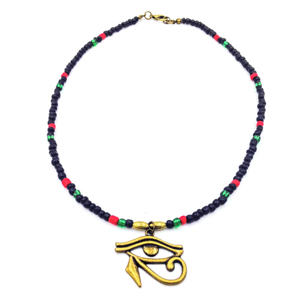 RBG/Pan African Eye of Heru Choker