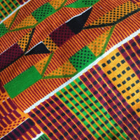 African Kente Protective Face Cover