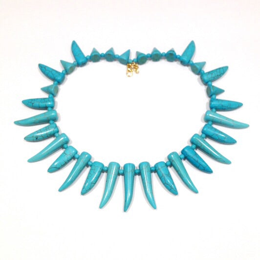 Turquoise Choker (Blue or Cream)