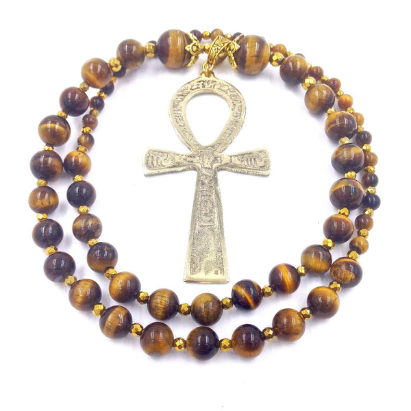 Tigers Eye Ankhlace™ of Life I