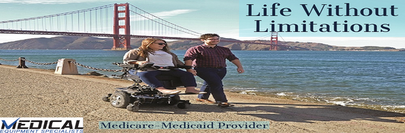Power Wheelchairs by Medical Equipment Specialists